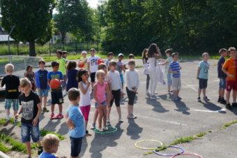 TV Heppenheim – Basketballer an der Konrad-Adenauer-Grundschule