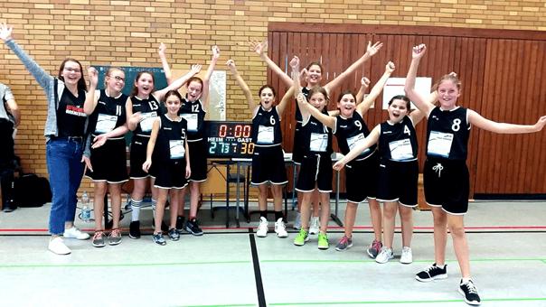 1. Sieg der WU12 Mädels