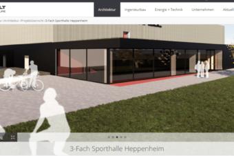 Neue Nibelungenhalle, erste Konzeptbilder