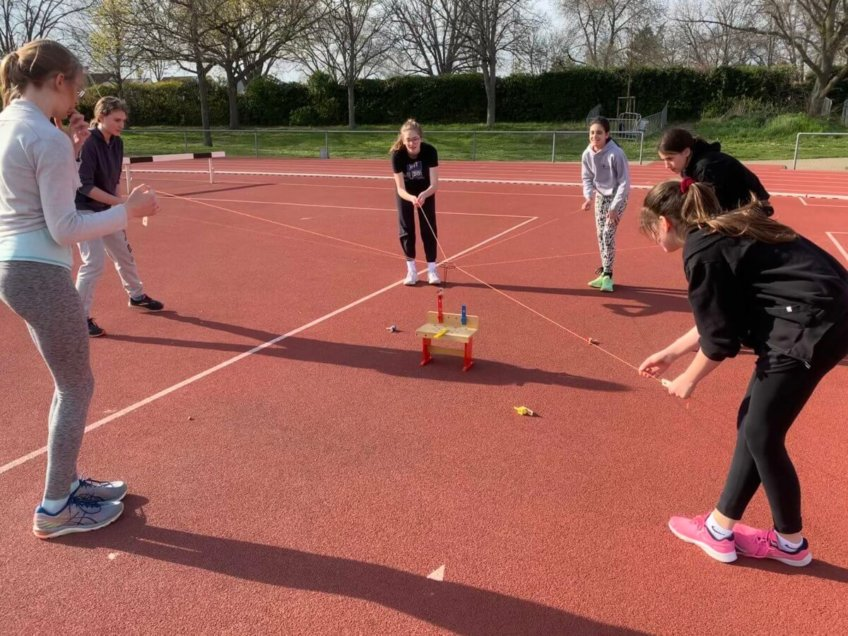 Online- & Outdoor-Training der WU14